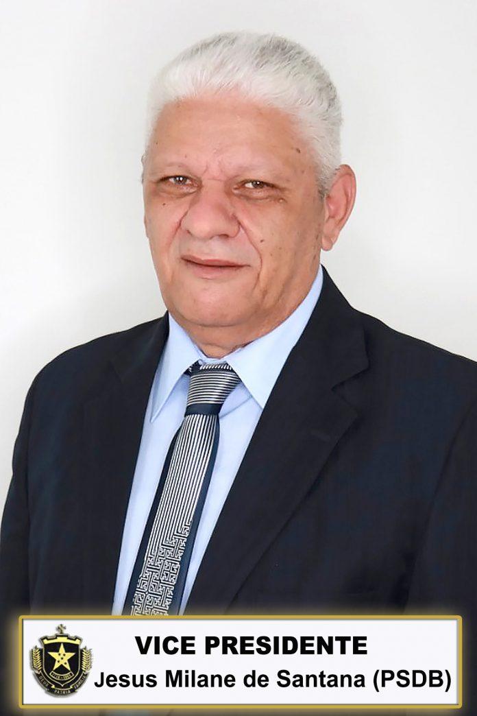 VICE-PRESIDENTE JESUS MILANE DE SANTANA PSDB