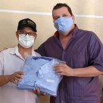 A Câmara Municipal de Iguatemi, por meio do comando da Casa fez a entrega de novos uniformes e novas máscaras aos seus servidores.